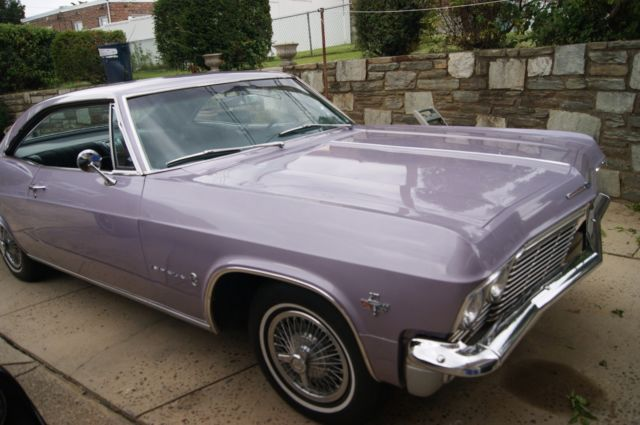 Chevrolet Impala Two Door Sport Coupe Evening Orchid