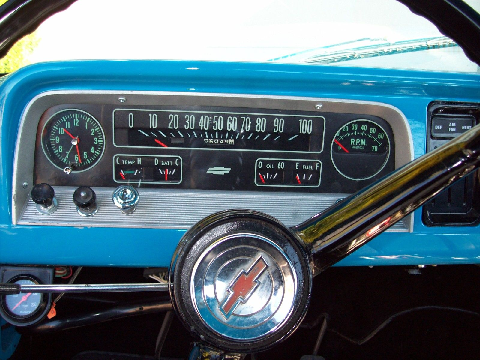 1965 Chevy C10 Truck Restored with Contractor Bed. Great ...