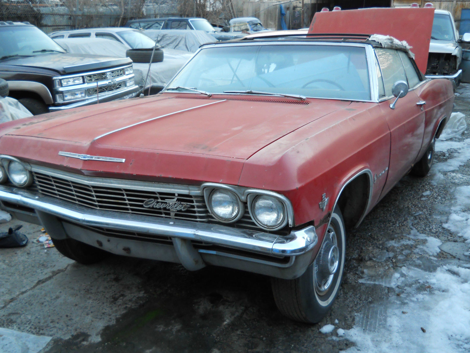1965 Chevy Convertible (winter project) 65-66-67-68-69 - Classic