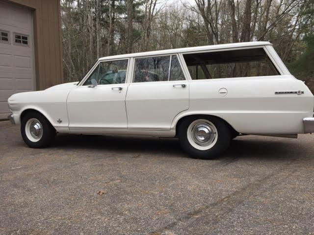 1965 Chevy Ii Nova Wagon Sleeper California Car Fast New
