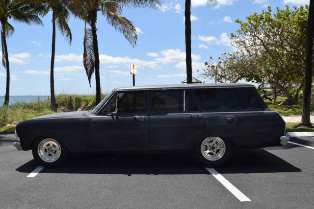 1965 chevy ii nova wagon turbo 383 street car classic chevrolet nova 1965 for sale. Black Bedroom Furniture Sets. Home Design Ideas