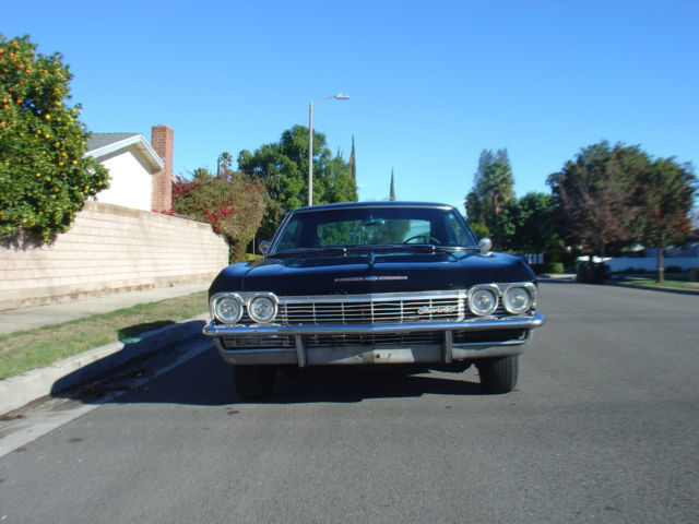 1965 Chevy Impala Coupe Black On Black 1966 1964 1953 1962 1967