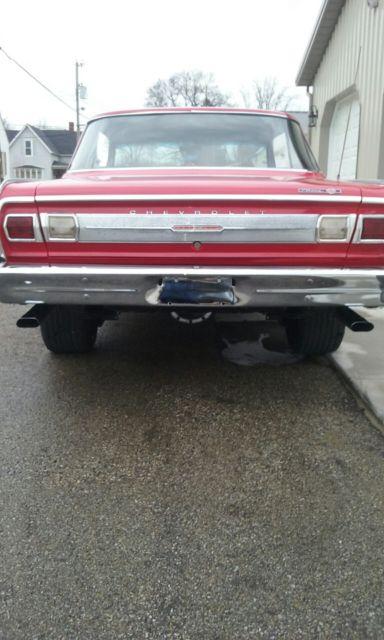 1965 Chevy Nova Ss Ii Red Duece Street Hot Rod 62 63 64