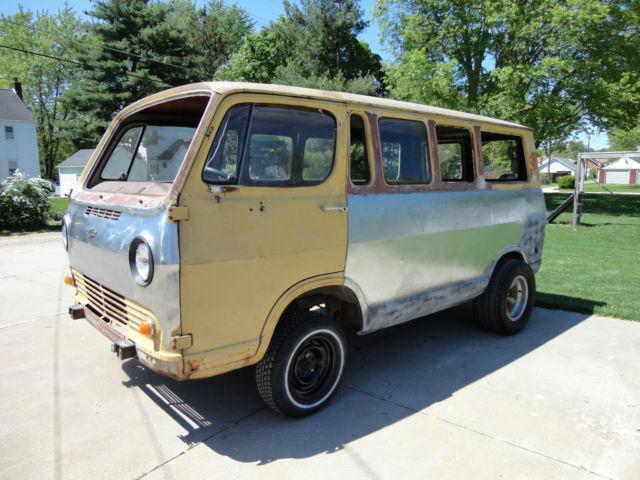 Chevy Van Panel Hot Rat Rod Gasser Vw Bus Rockabilly G G