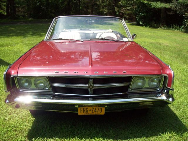 1965 chrysler 300 convertible convertable runs drives good looker needs tlc classic chrysler. Black Bedroom Furniture Sets. Home Design Ideas