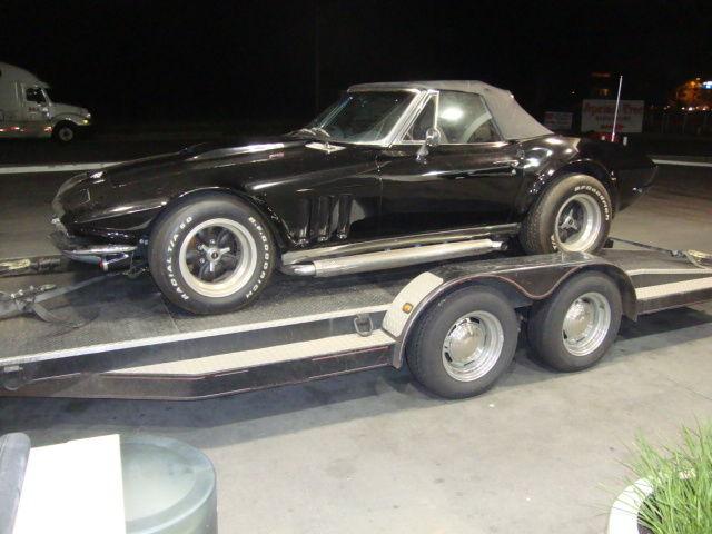 Corvette Roadster Flared Fenders Mild Custom Hot Rat Rod Gasser Chevy