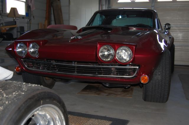 Corvette Sting Ray Coupe S Custom Former Big Block