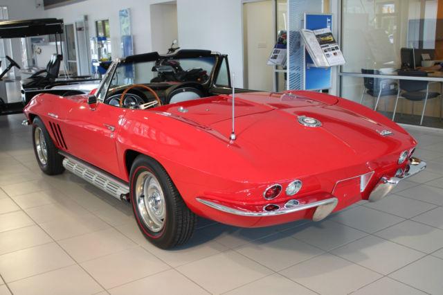 1965 corvette stingray convertible 383 425 hp classic chevrolet corvette 1965 for sale. Black Bedroom Furniture Sets. Home Design Ideas