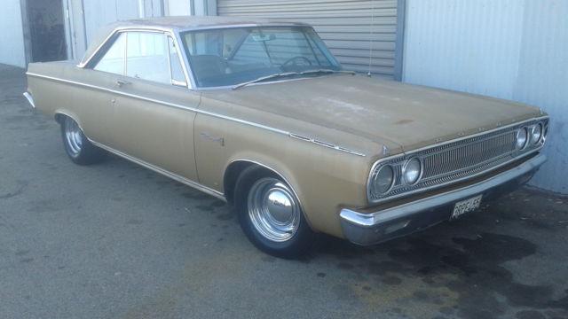 1965 Dodge Coronet 500 Hardtop 2 Door 5 2l Classic Dodge