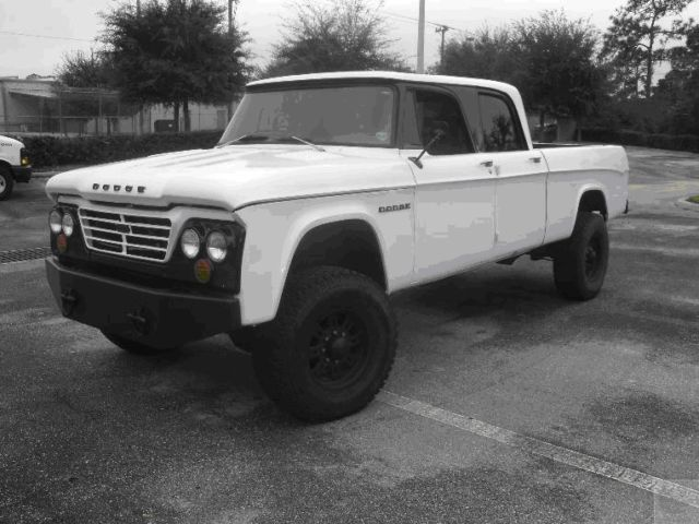 1965 Dodge D200 4 Door Crew Cab Truck 4x4 on 2005 Ram 2500 ...