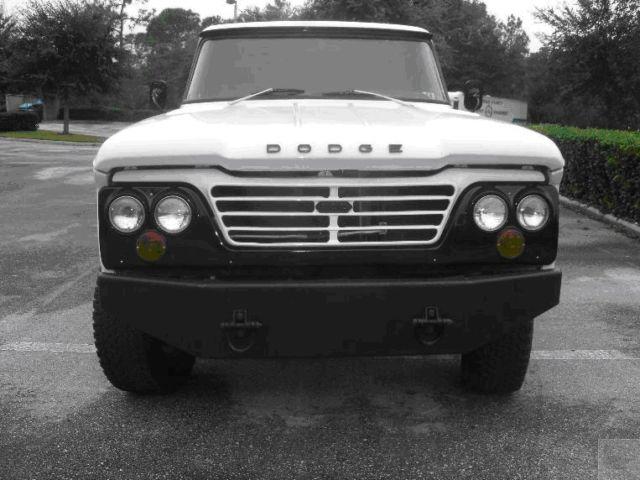 Six Door Dodge Truck >> 1965 Dodge D200 4 Door Crew Cab Truck 4x4 on 2005 Ram 2500 Chassis Hemi 6 speed - Classic Dodge ...