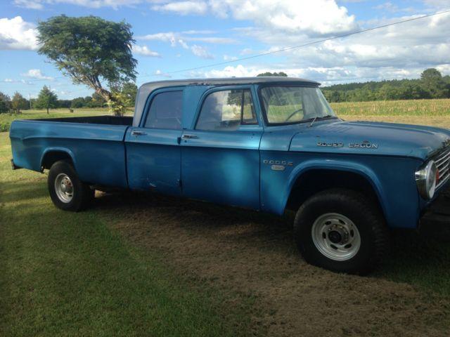 1965 D200 Dodge Crew Cab For Sale Autos Post