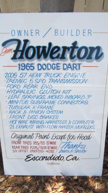 1965 dodge dart 5 7 hemi 5 speed - clic dodge dart 1965 for sale on 1965  wiring diagram