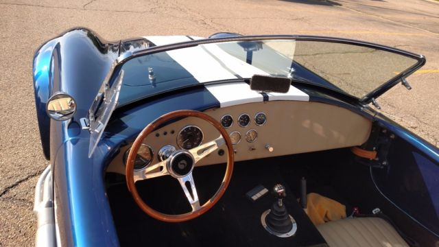 1965 Factory Five 427 518hp 5spd Shelby Cobra non-donor ...