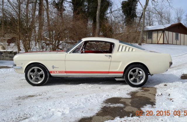 1965 fastback strong 302 crate motor auto super solid. Black Bedroom Furniture Sets. Home Design Ideas