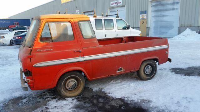 1965 Ford Econoline Falcon Pickup Truck Rare 5 Window Barn