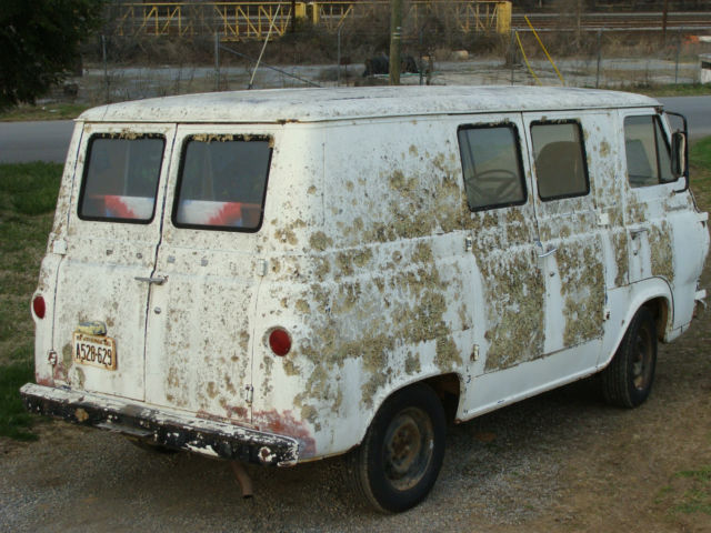 1965 Ford Econoline tricked out Hippy Van woodstock ...