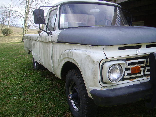 1965 ford f 100 4x4 and 64 ford parts truck 2 trucks and parts classic ford f 100 1965 for sale. Black Bedroom Furniture Sets. Home Design Ideas
