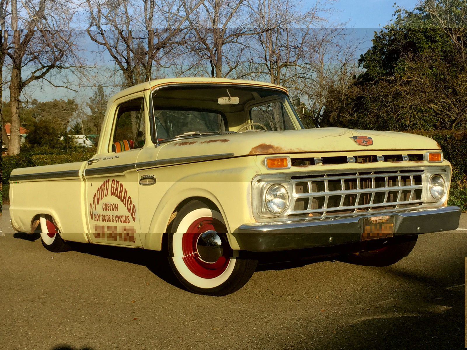 1965 ford f 100 rat rod truck classic ford f 100 1965 for sale. Black Bedroom Furniture Sets. Home Design Ideas