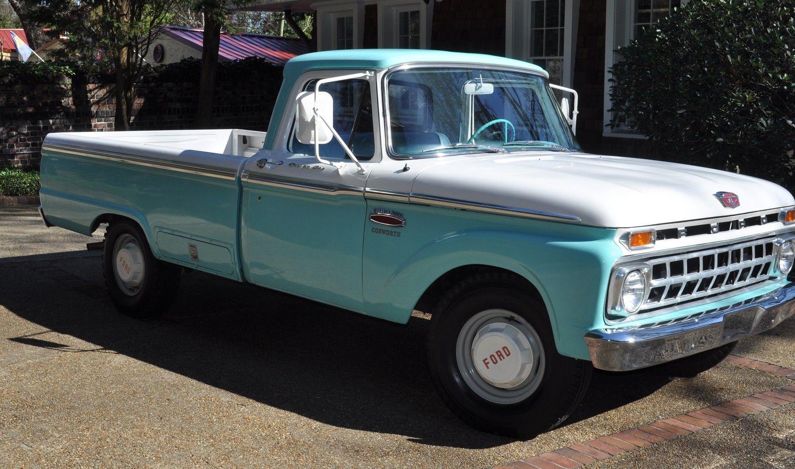 1965 Ford F 250 Twin I Beam Custom Cab Camper Special In