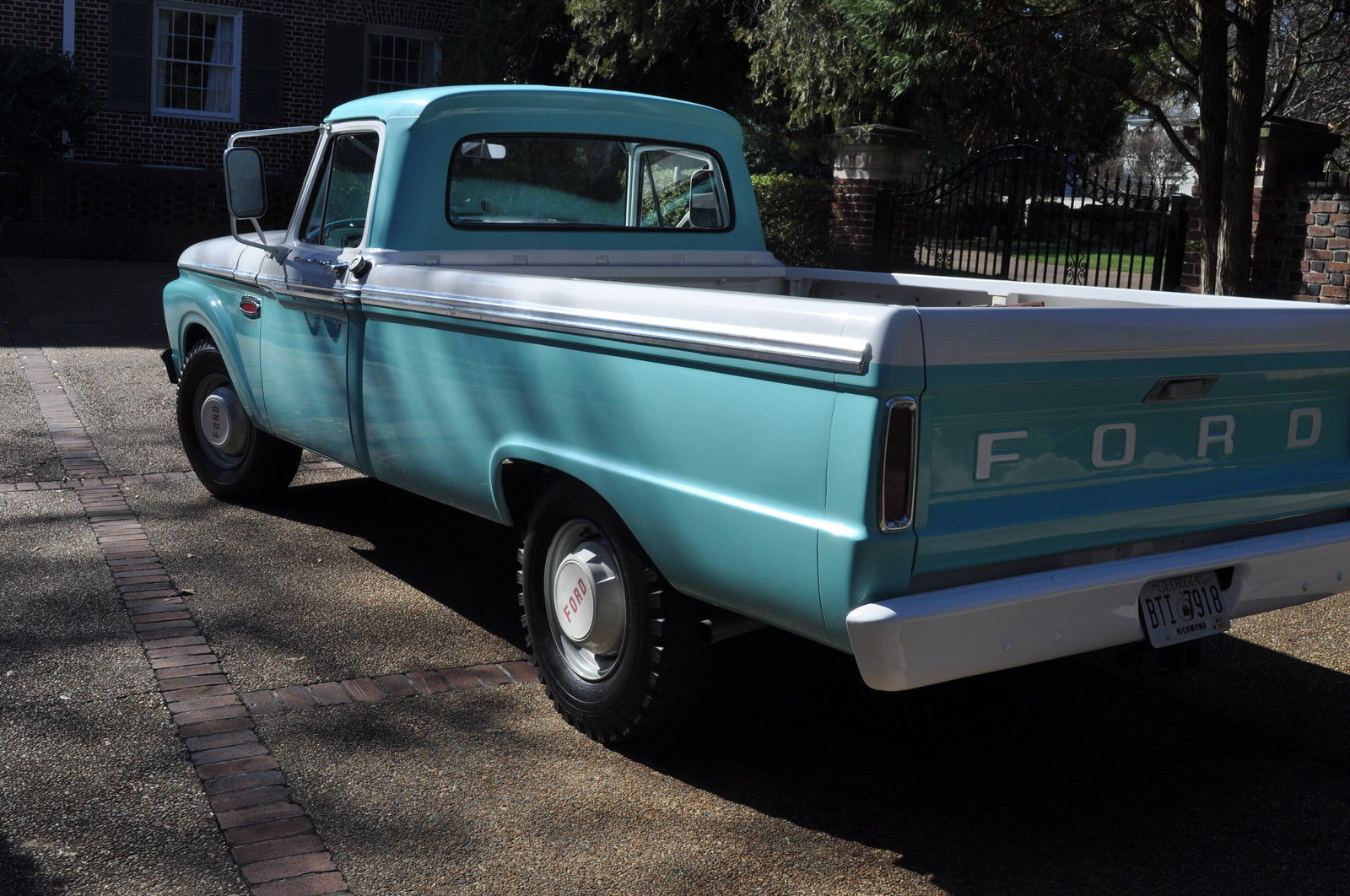 1965 Ford F 250 Twin I Beam Custom Cab Camper Special In