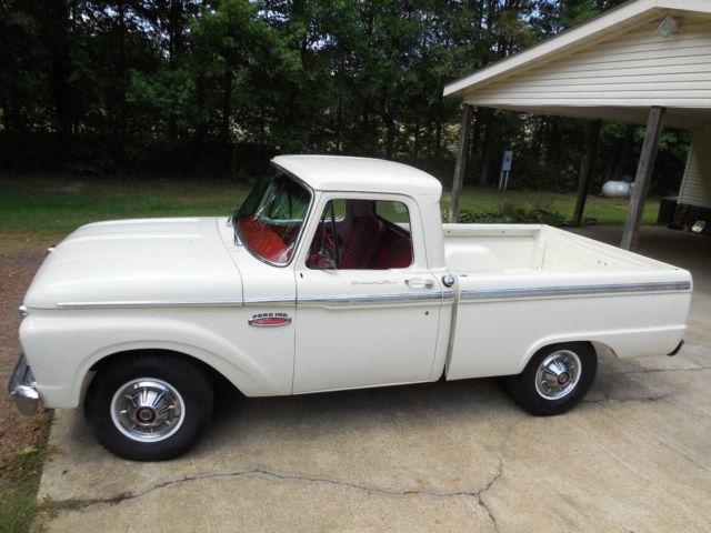 1965 Ford F100 Custom Cab Ranger Short Wheel Base