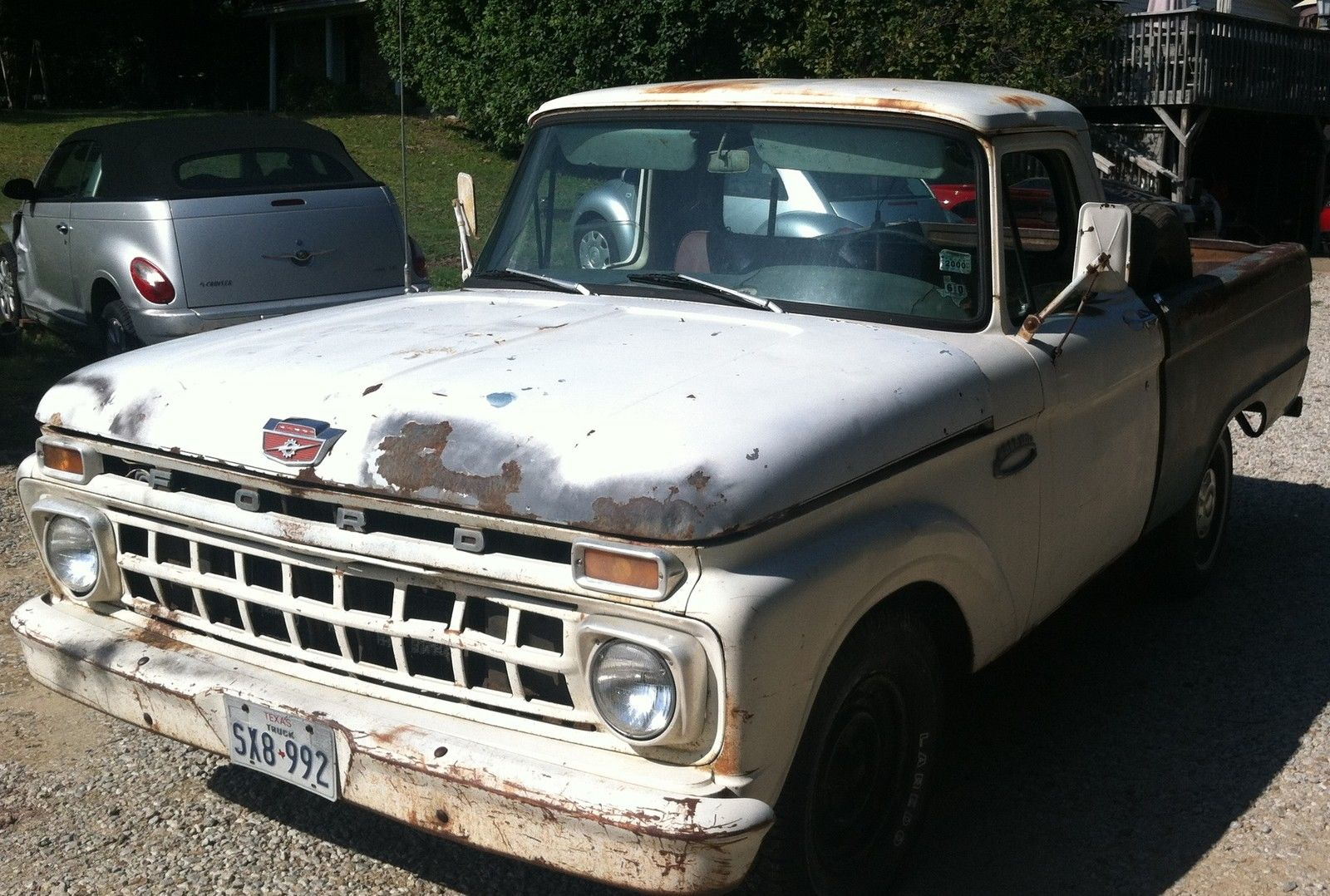 1965 Ford F100 Short Bed Restorable 390 V 8 With 4 Speed