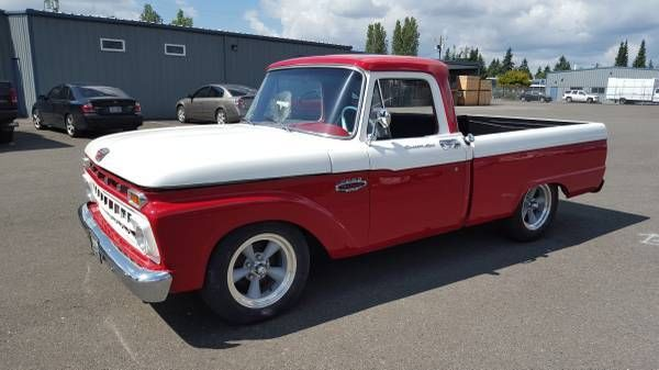 1965 ford f100 shortbed 429 top loader 4speed classic hot rod pickup truck classic ford f 100. Black Bedroom Furniture Sets. Home Design Ideas