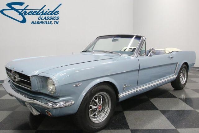1965 Ford Mustang 19107 Miles Silver Smoke Gray