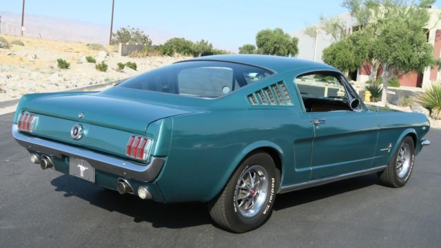 1965 Ford Mustang 2 2 Fastback 289 A Code Ac Twilight