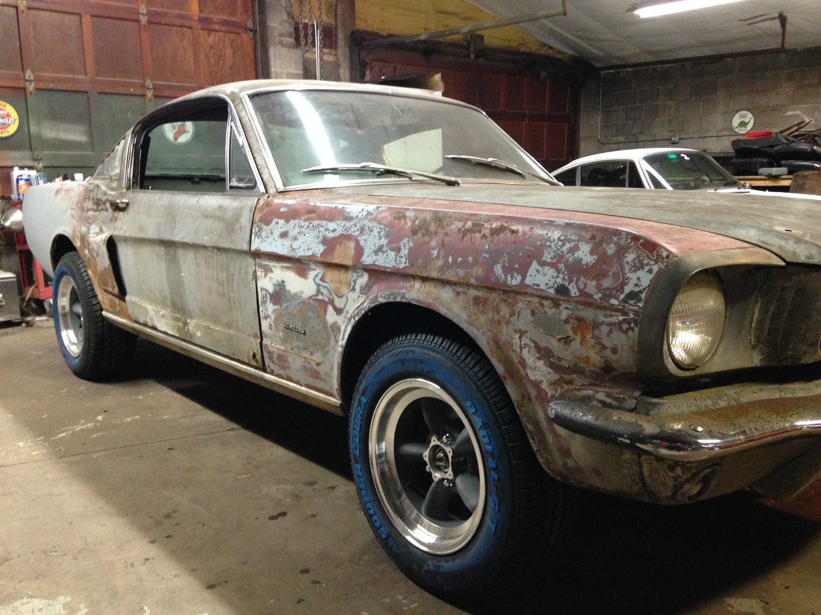 1965 Ford Mustang 2 2 Fastback Partial Restoration Alabama