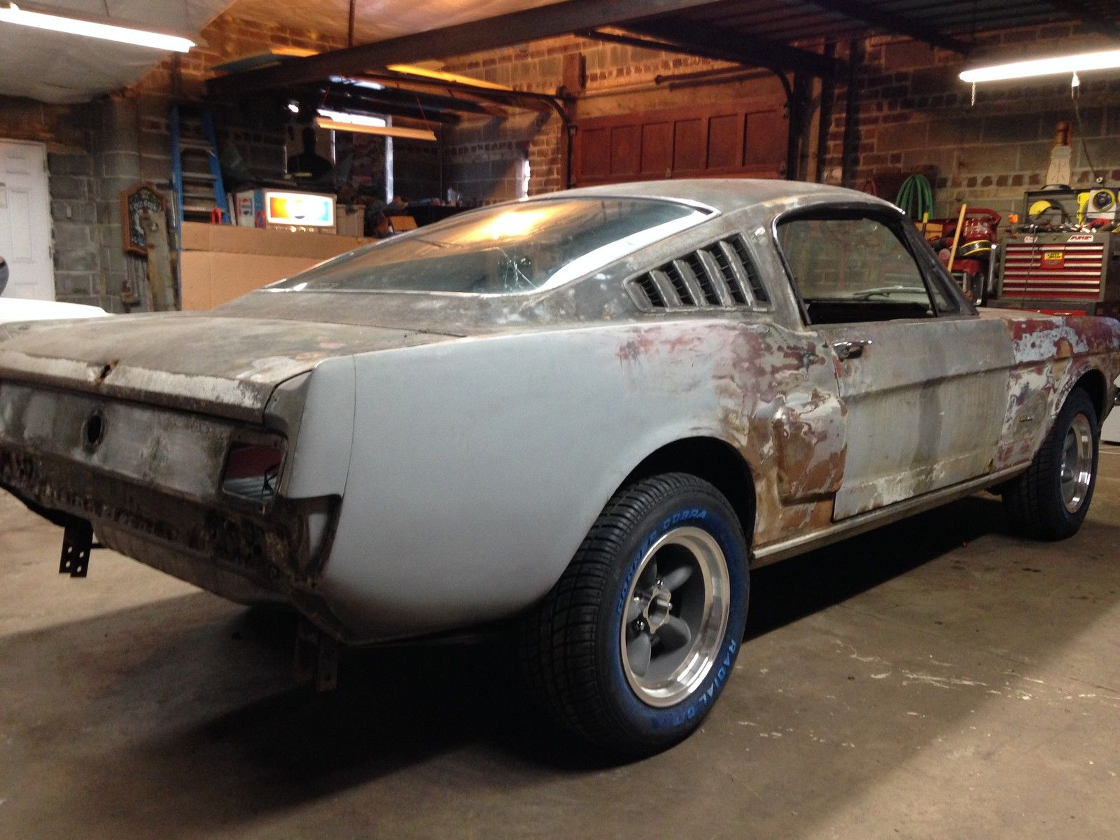 1965 ford mustang 2 2 fastback partial restoration alabama barn find solid car classic ford. Black Bedroom Furniture Sets. Home Design Ideas