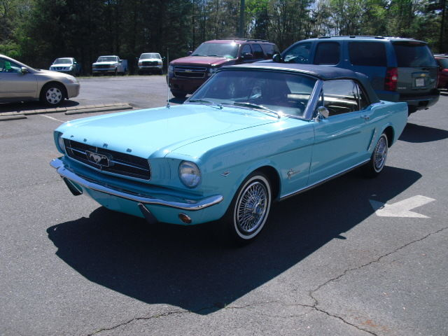 1965 ford mustang 289 tropical turquoise convertible classic ford mustang 1965 for sale. Black Bedroom Furniture Sets. Home Design Ideas