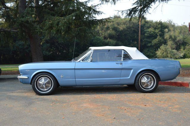 1965 Ford Mustang 64 5 Convertible Gorgeous Car New Top