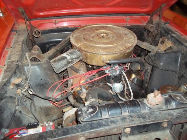 Ford Mustang Base V Bbl Carb Auto Califonia Car Extra Parts Included on 1965 Ford Mustang Fuel Pump