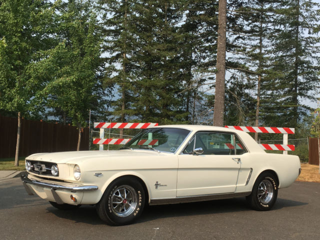 1965 ford mustang k code 289 hipo coupe classic ford mustang 1965 for sale. Black Bedroom Furniture Sets. Home Design Ideas