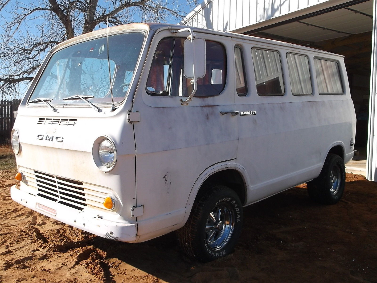 1965 Gmc Chevrolet Handi Bus 90 Nice Van Wagon Very Solid