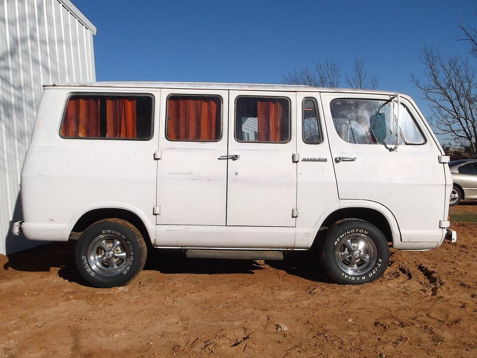 1965 Gmc Chevrolet Handi Bus 90 Nice Van Wagon Very Solid