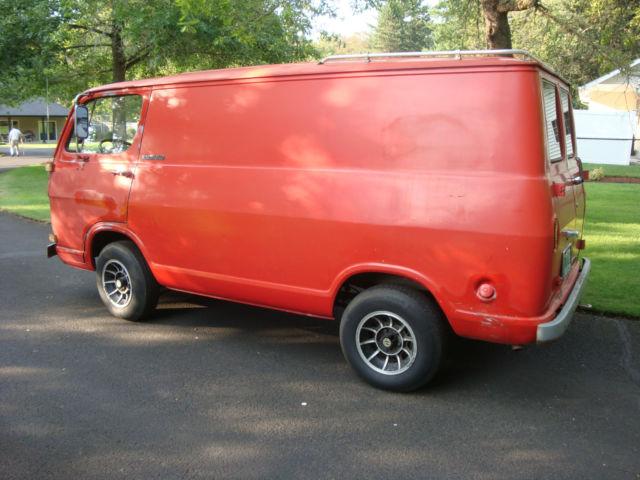 Used Work Vans >> 1965 GMC Handi-Van first generation van similar to the Chevy G10 van - Classic GMC Other 1965 ...