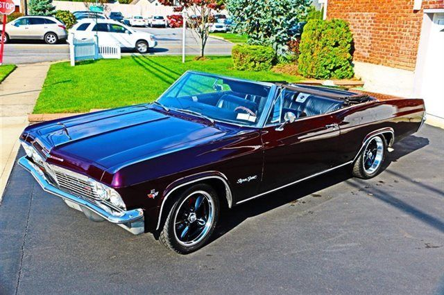 1965 Impala Ss Convertible For Sale Fuel Injected Air