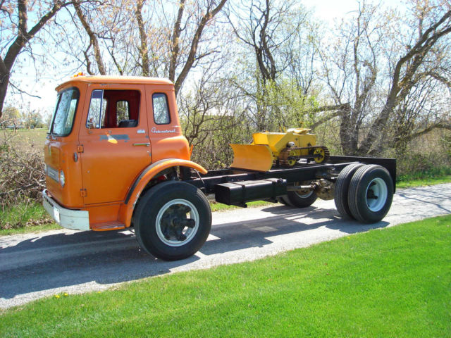 1965 International Co 1700 Cabover Coe Truck Classic International Harvester Coe