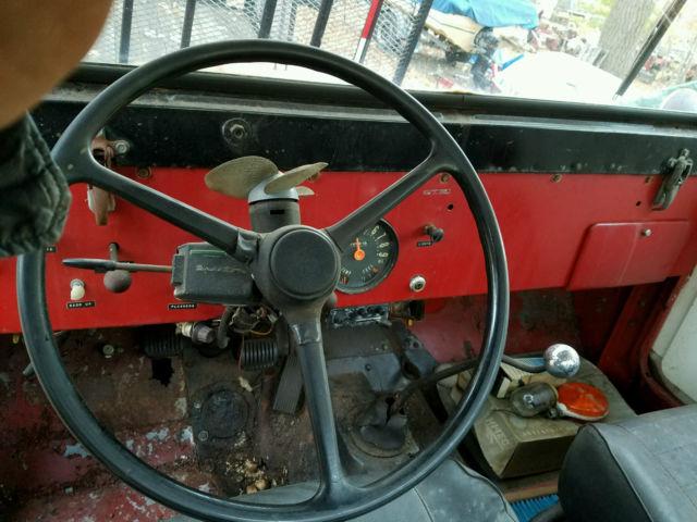 1965 Jeep Cj5 225 C I Dauntless V6 Buick Kaiser 231 3 8l