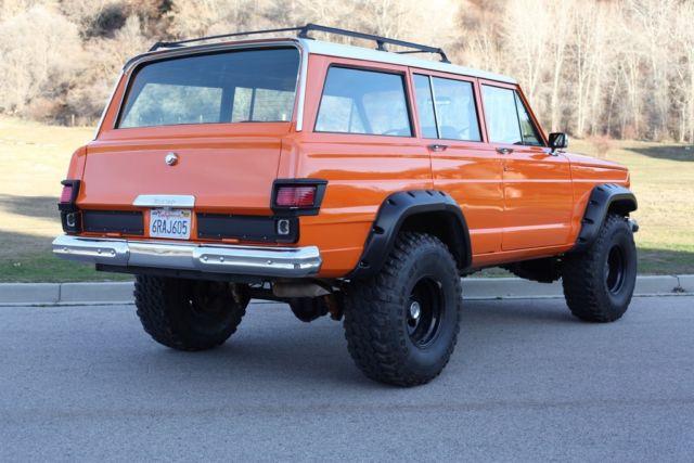 1965 Jeep Wagoneer Orange Classic Jeep Wagoneer 1965 For