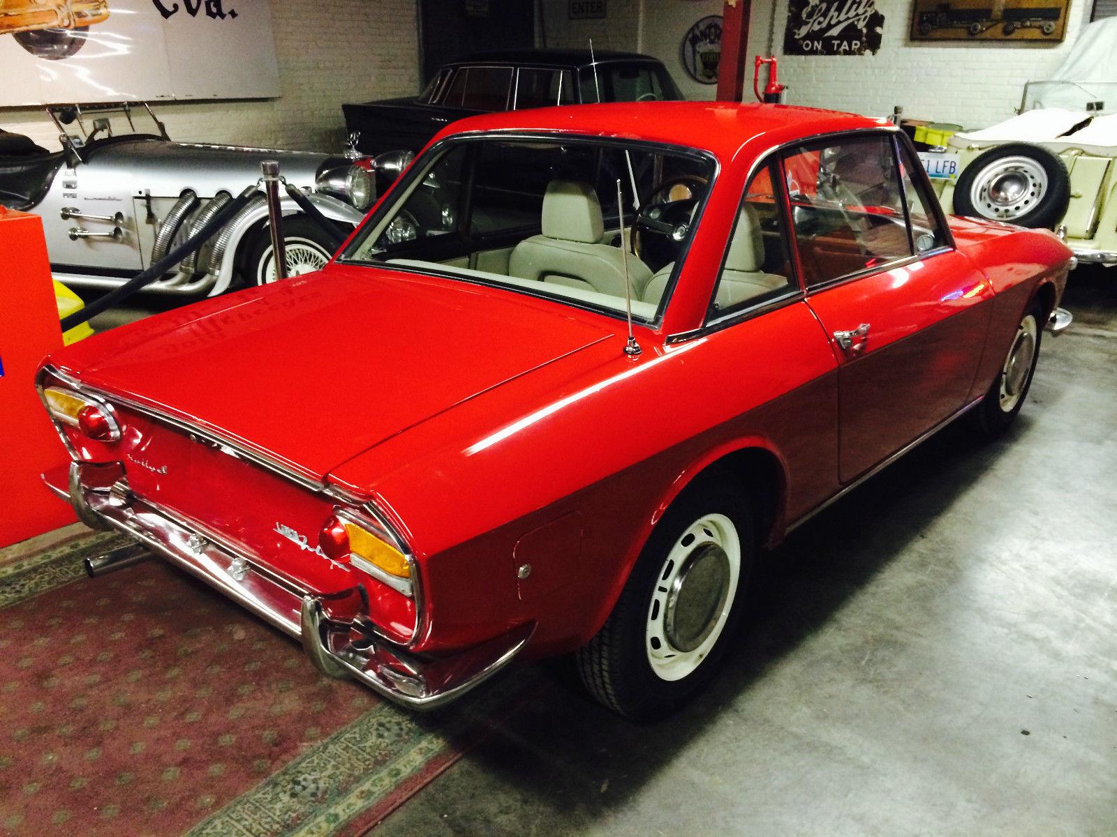 1965 Lancia Fulvia Rally 1.3 Coupe 16,075 Miles - Classic ...