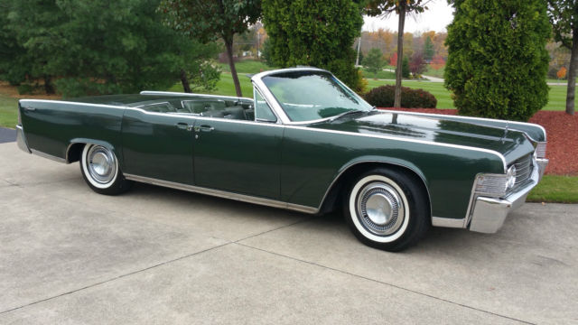 1965 lincoln continental 4dr convertible rare classic car estate collection find classic. Black Bedroom Furniture Sets. Home Design Ideas