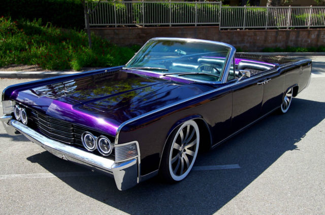 1965 lincoln continental convertible custom entourage show car quality classic lincoln. Black Bedroom Furniture Sets. Home Design Ideas