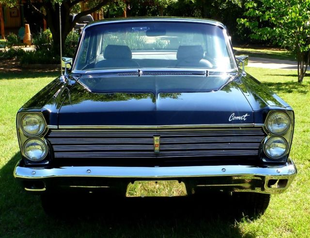 1965 mercury comet 404 restored low mile muscle car 302 for Charity motors auction 8 mile
