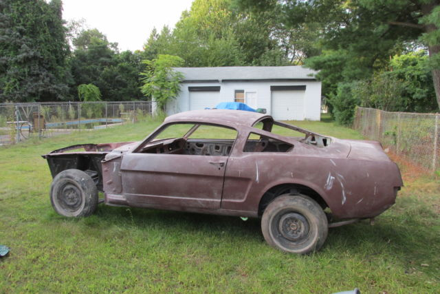 For Sale 65 Corsa Convertible Rolling Chassis California: 1965 MUSTANG FASTBACK NOS SHEET METAL, ROLLING BODY, FORD