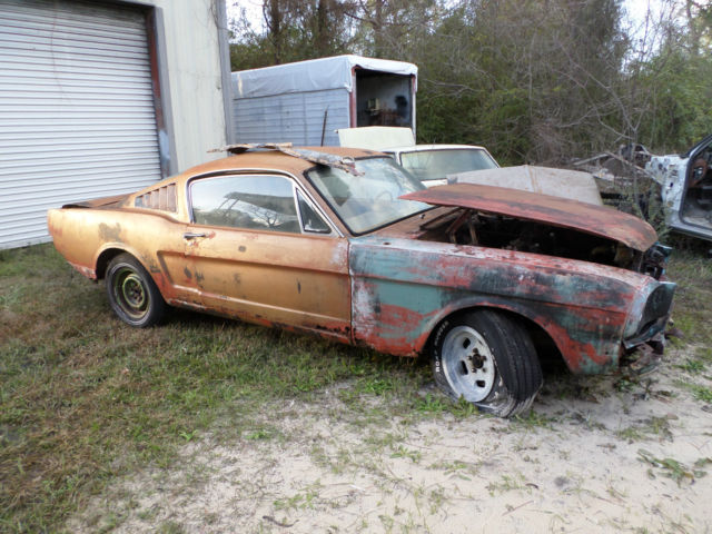 65 Mustang Parts >> 1965 Mustang Fastback Parts Car Lots Of Hard To Find Parts No