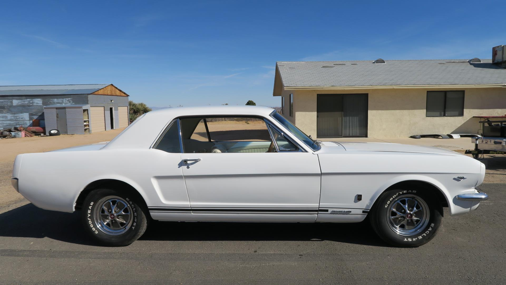 1965 mustang real gt a code 4 speed just restored rare color great driver